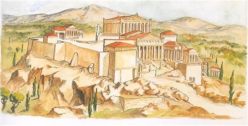 Wettkampf Der Alten Griechen