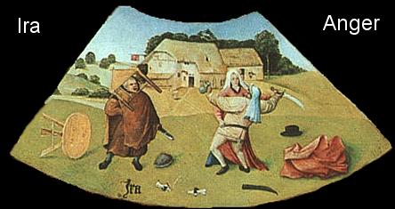 Quadros Poéticos de Hieronymus Bosch - a [Ira]